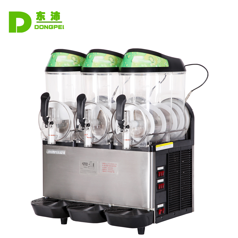 Triple Slush maker machine ice cream,Snow melting machine for slush dispenser