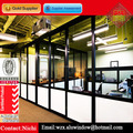 Lowest Cost Aluminum Frame Wall Glass Office High Partitions