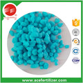 low price high quality hot sale Ammonium sulphate granular blue color