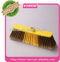 Visco varnished wood broom stick