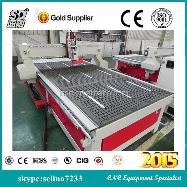 Good Feedback!!Jinan Sudiao SD-1325(1300*2500*200MM) Best Price! High Quality! cnc router for woodworking