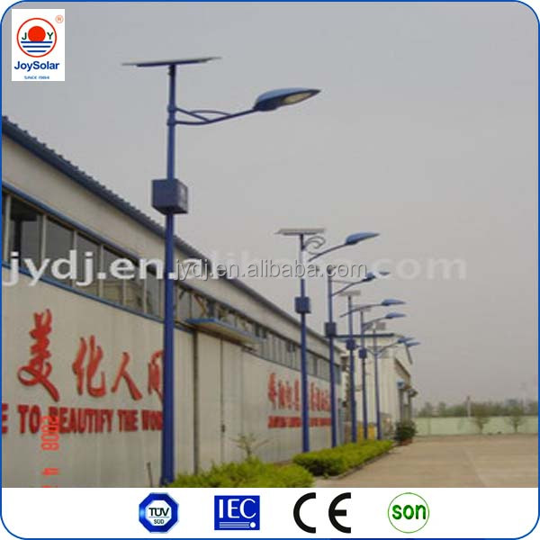 60W High Power LED Lamp Solar Panel 8M Lighting Pole 24V DC 60W Outdoor LED Solar Street Lights CE/RoHS/IP65