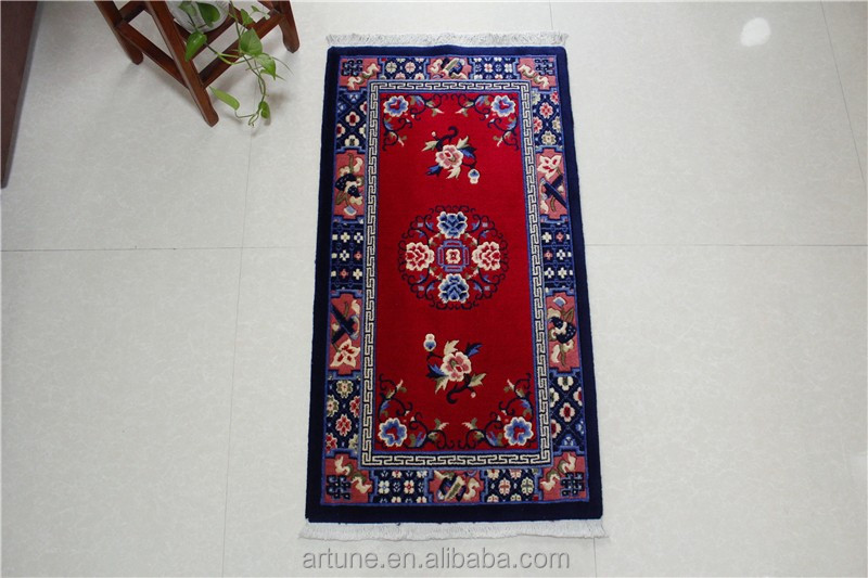 Wilton chinese prayer carpet , mosque prayer wool mat for muslim