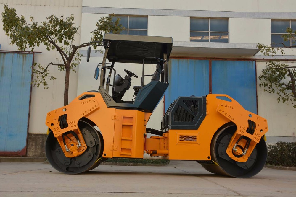 Famous brand 4ton double drum road roller road construction compactor
