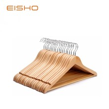 Chinese Supplier Summer Wholesale Wooden Clothes coat Hangers for suit