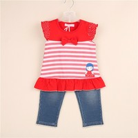 Wholesale Factory Direct Cute Baby Clothes Clothing Set