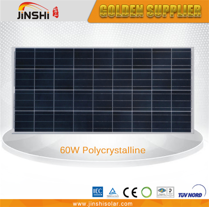 High efficiency wholesale polycrystalline solar panel 60wp