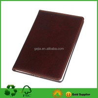 Leather Organizer File Folder Organizer Notebook