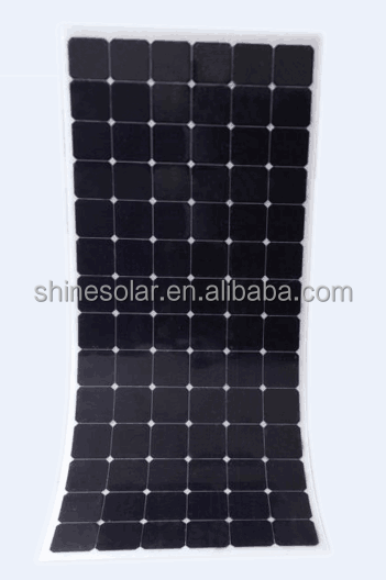 250W flexible solar panel mono solar module with USA sunpower cell with MC4 connector solar panel charger