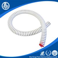 Flex reinforced tubing white pvc flexible air duct