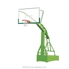 Outdoor imitation hydraulic university gymnasium backstop basketball stand