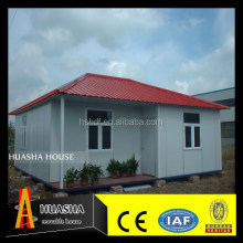 Prefabricated Light Steel Frame Australian Granny Flats , One Slope Roof House