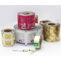 PET AL PE aluminum laminated plastic film roll