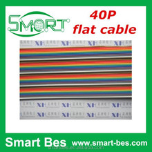 SmartBes 40p color ribbon cable and flat cable 24# wire 12 strands