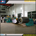 Metal uncoiling machine
