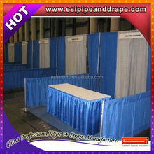 ESI cheap trade show backdrop stand,pipe and drapes with banjo fabric