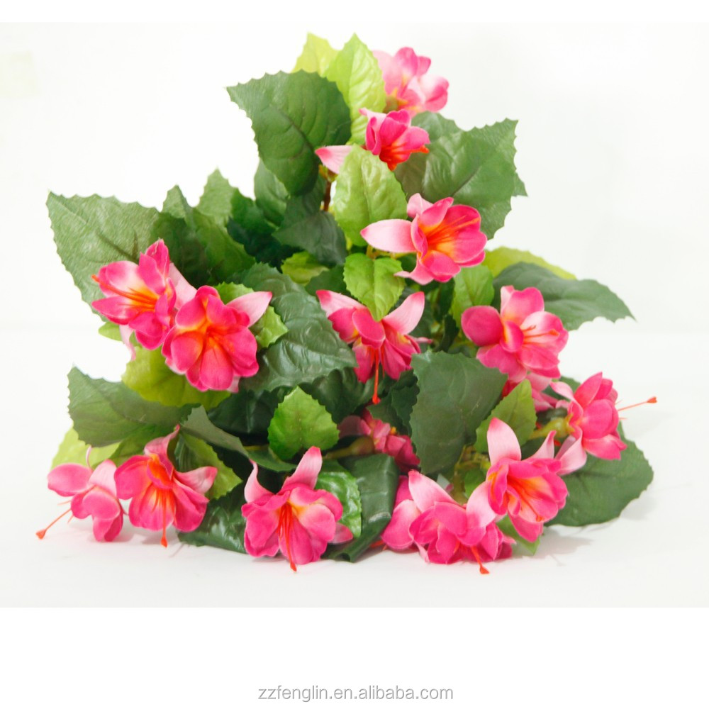 Cheap Wholesale Artificial Flower Making Silk Fuchsia