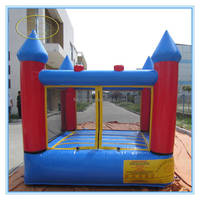 PVC cheap inflatable bouncer with slide/inflatable combo bouncer/commercial inflatable bouncer frozen for sale