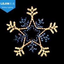 New product flashing snowflake light for square decoration
