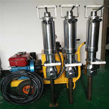 Diesel Mortor Water cooled hydraulic rock splitter,competatived power-operated hydraulic rock and stone splitter