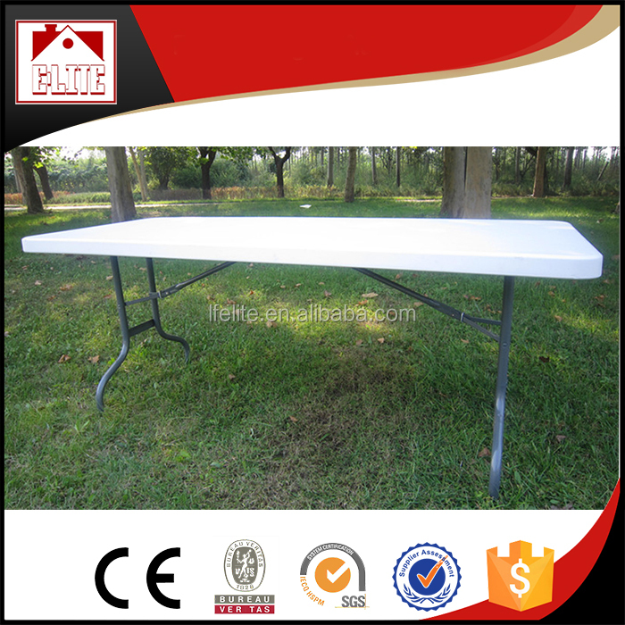 8-foot folding table,folding bracket for table for market