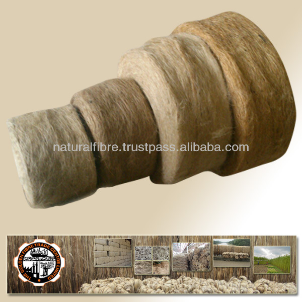 Jute Meshta Kenaf Fibre - Sliver Roll for interior decoration