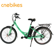 2018 lady's ebike 36v 250w rear hub motor city electric bicycle