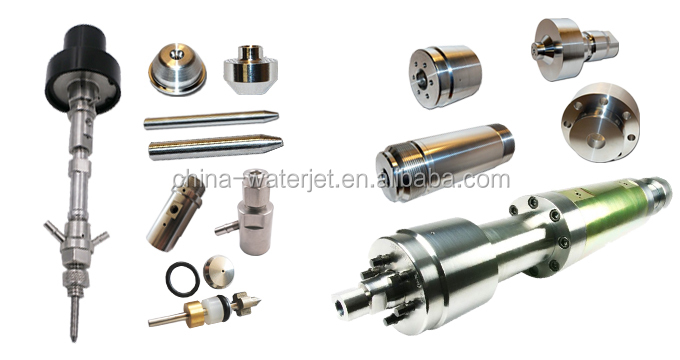 High quality waterjet cutting machine parts waterjet high pressure attenuator