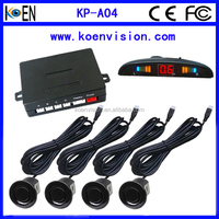 LED Parking Sensor System Car Reverse Backup Radar With LED Display Ground Detect Free