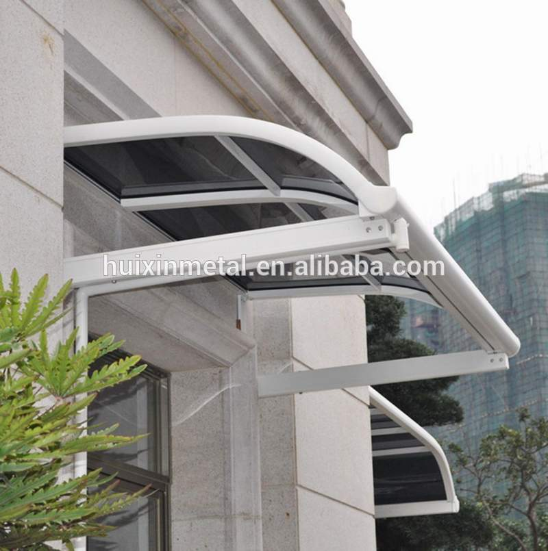Fixed System Aluminium Windows Rain Awning Canopy For Sale