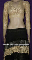 TRIBAL GOTHIC LONG SLEEVE LACE CHOLI
