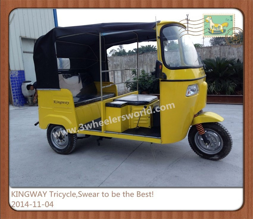 China Supplier Newest Design Bajaj Three Wheel Tricycle Piaggio Ape for sale