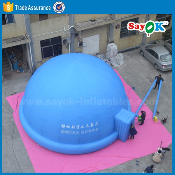 inflatable projection with planets-#35