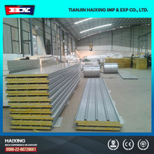 Metal Insulated Polystyrene Corrugated Roof Sandwich Panel Factory Price