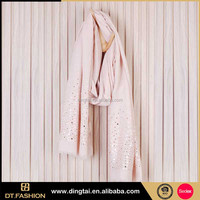 Fashion print little lady names of custom silk printing scarf