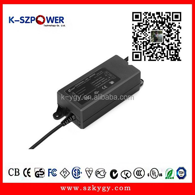 2015 k-12 24w series ygy power laptop power adapter led driver for lighting LED with CE UL