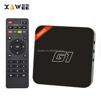 G1 android tv box Android 4.4 Amlogic S805 quad core Smart TV box