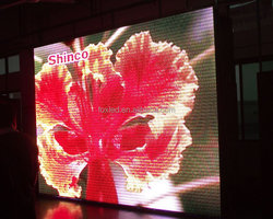 32*32 27777 dots flexible indoor P6 led video display (multi-function led video screen)