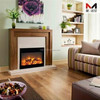 cheap decorative electric fireplace heater
