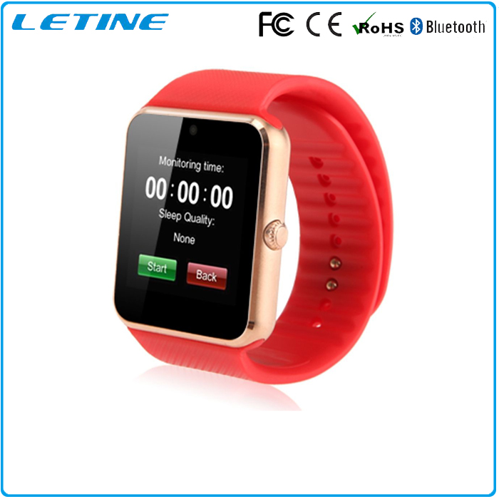 GT08 Android smart watch bluetooth phone with MTK6261 support sim card and tf card with camera smart watch