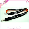 custom fashion leather lanyard id card badge holder