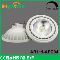 LED high quality low leat AR111 bulb light indoor use 10/24/40 Degree gu53