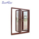 AS2208 used commercial glass entry doors tempered glass aluminum storefront door price
