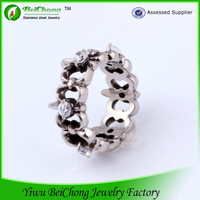 2015 new arrival american popular cheap stainless steel cock ring for men