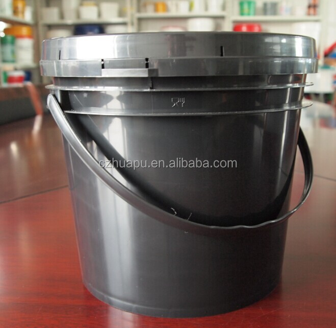 5 litre plastic ink pail bucket with pour spout