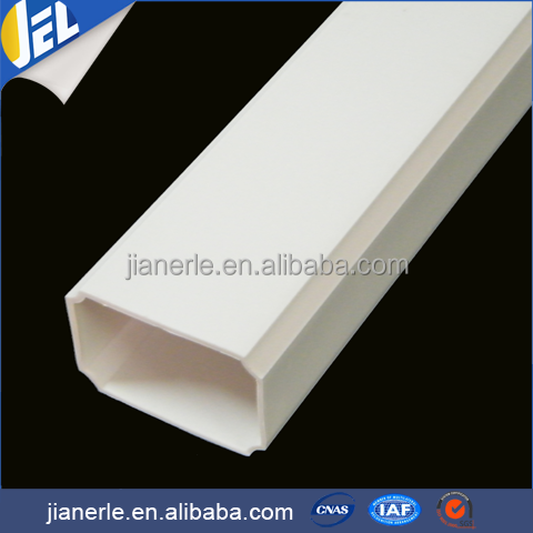 Pvc New Material Pipe , Factory Price Rectangular Plastic Pipe Tube