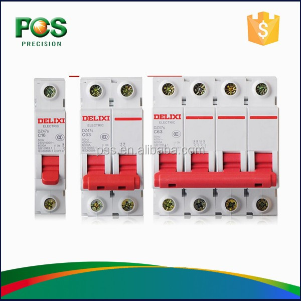 C45N Over-load protection 2P,3P,3P+<strong>N</strong>,4P:400 AC mcb busbar
