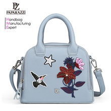 7000 China Wholesale Fashion Brand Designer Lady Shoulder Bags carteras mujer, PU Leather Embroidered Handbags for Women 2018