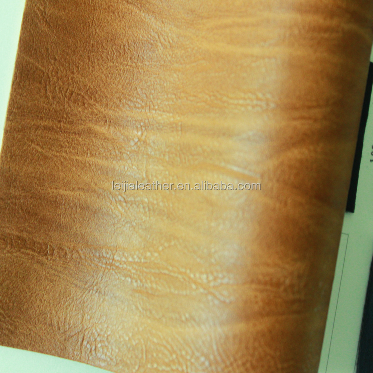 wood grain pvc leather seat cover fabric rexine pvc for boat cover and sofa