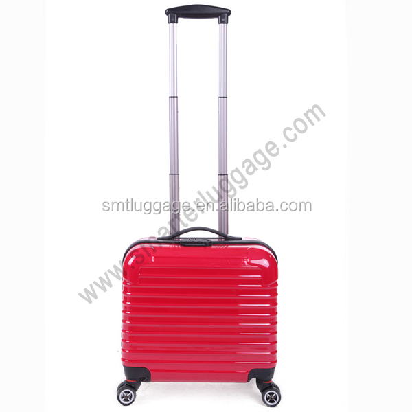 Trendy Ladies Red Skyway Travel Trolley Luggage Case